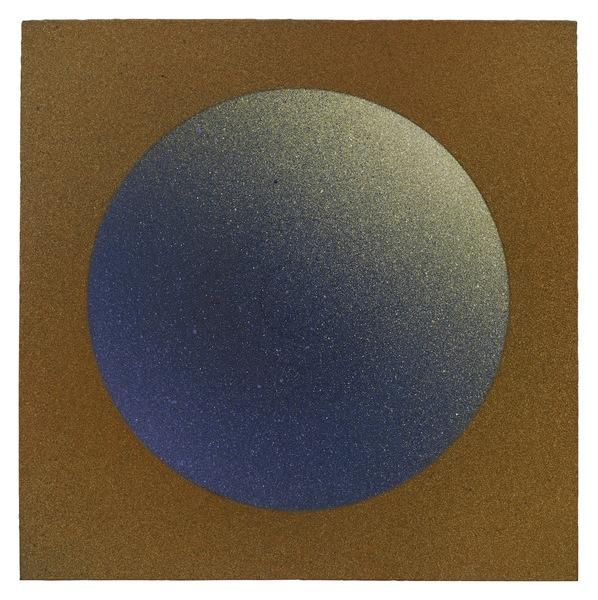 """Jordan Belson, """"Blue Sphere"""" (c.1955)"""