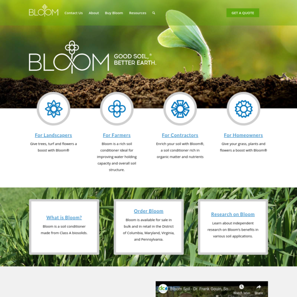 Bloom Soil – Good Soil, Better Earth