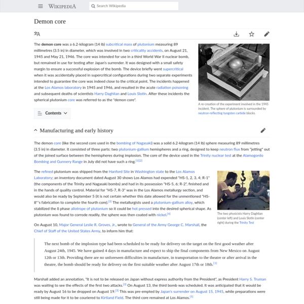 Demon core - Wikipedia