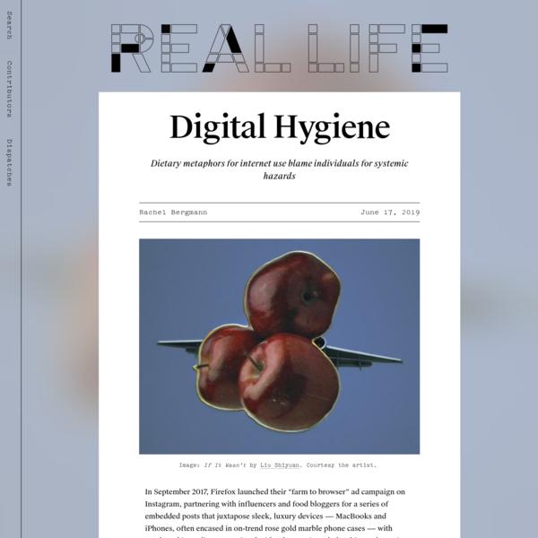 Digital Hygiene - Real Life