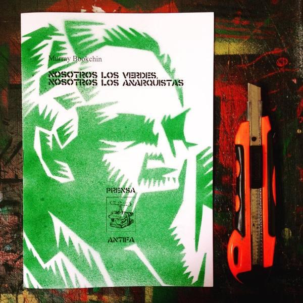 Murray Bookchin Stencil
