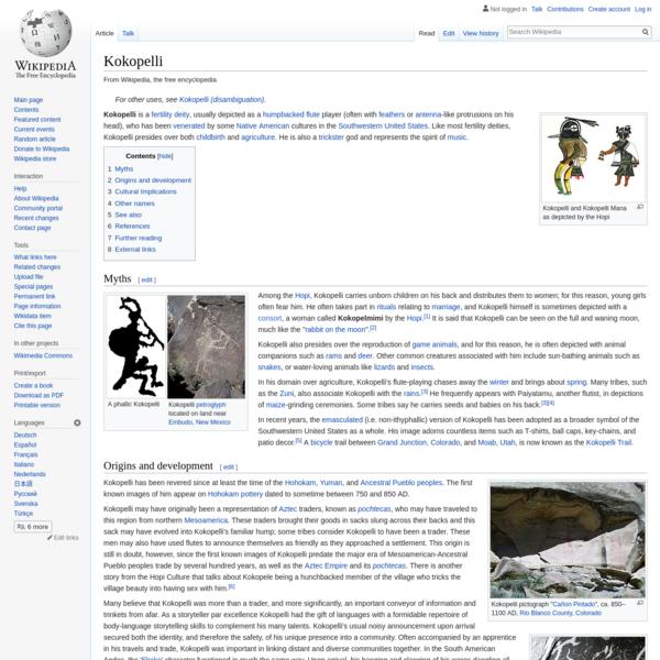 Kokopelli - Wikipedia