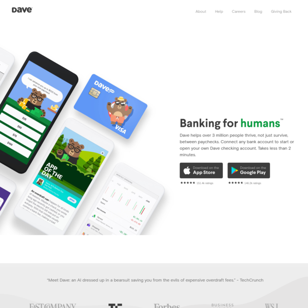 Dave.com - Banking for humans