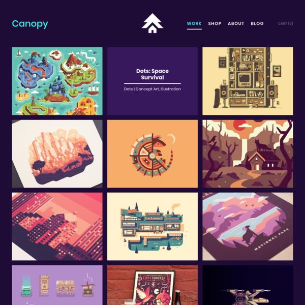 Canopy - Design & Illustration