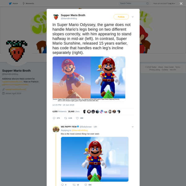 Supper Mario Broth on Twitter