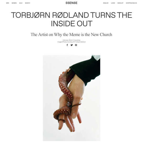 Torbjørn Rødland Turns the Inside Out
