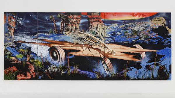 2015.04 Jamian Juliano-Villani : Crypod, Windmills of Humanity, 2015
