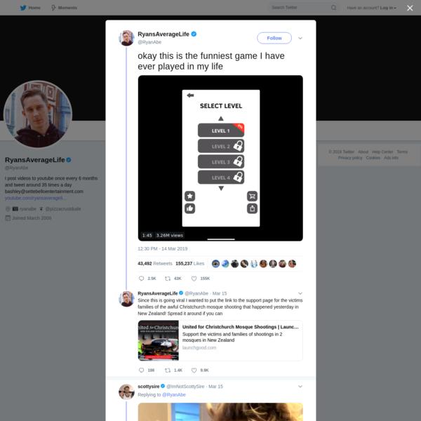 RyansAverageLife on Twitter