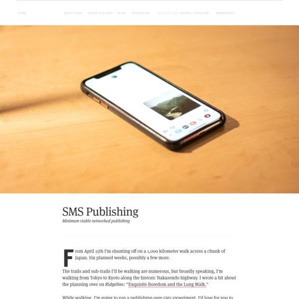 SMS Publishing