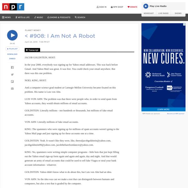 #908: I Am Not A Robot