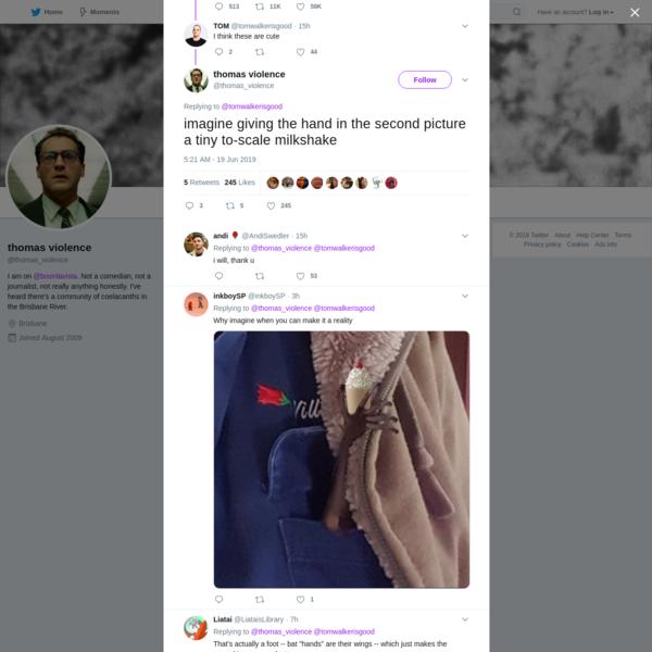 thomas violence on Twitter