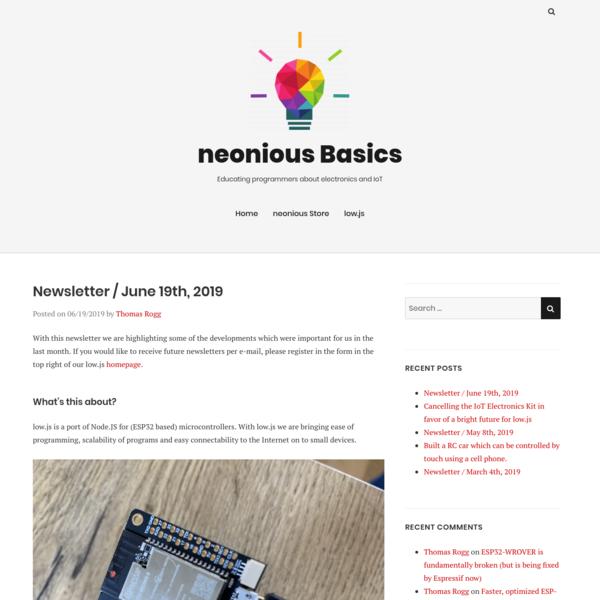 Newsletter / June 19th, 2019