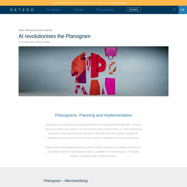 AI revolutionises the Planogram * Detego