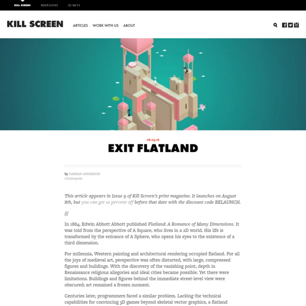Exit Flatland - Kill Screen