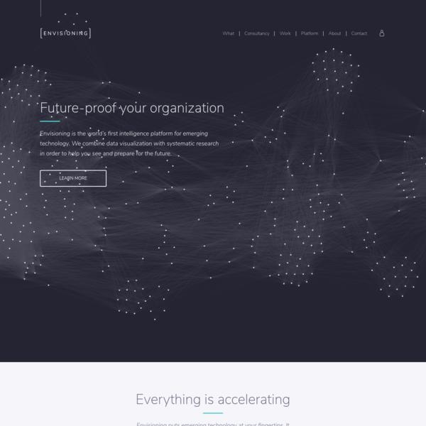 Envisioning - Technology Intelligence Platform