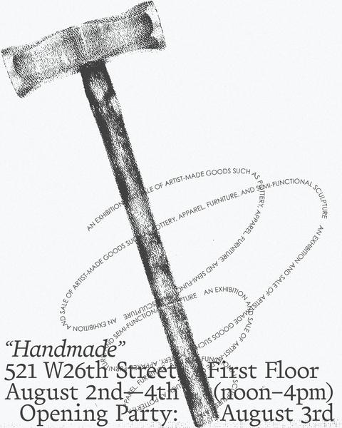 Handmade Show Poster