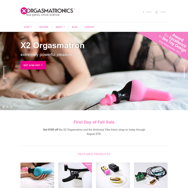 Experience the X1 Orgasmatron sex toy. Unique gyrating motion for the unique woman. Using scientific principles to create powerful orgasms.