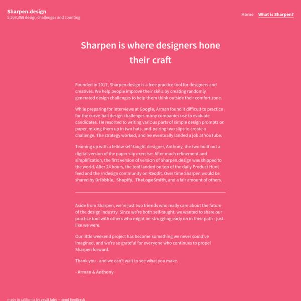 About Sharpen
