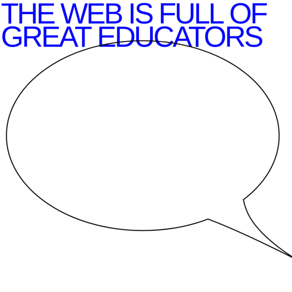 THE WEB IS...