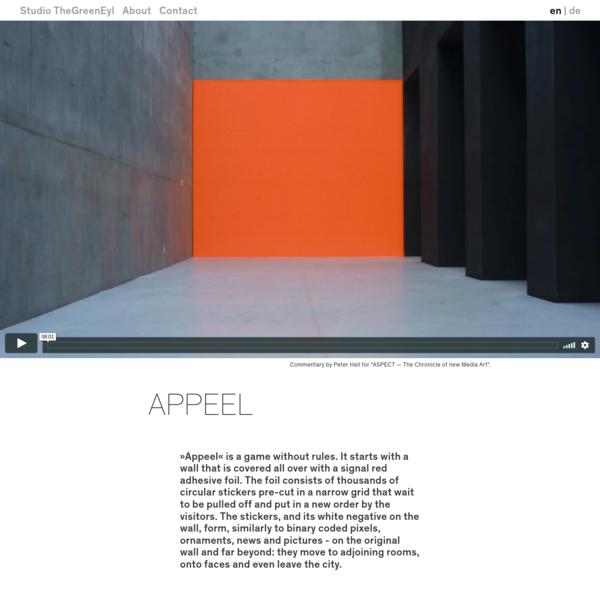 Appeel | Studio TheGreenEyl