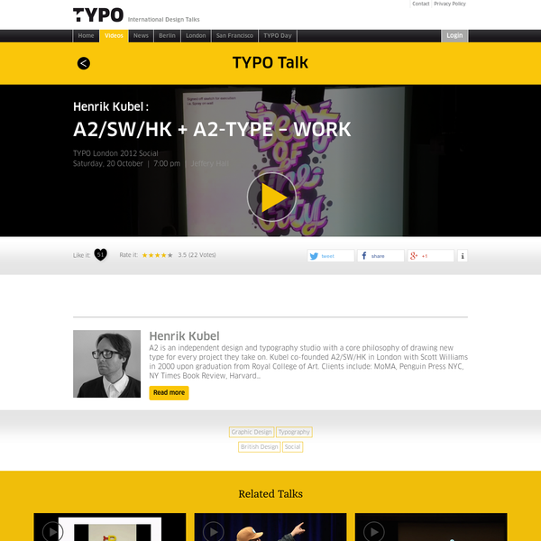 "TYPO Talks "" Blog Archiv "" A2/SW/HK + A2-TYPE - WORK"