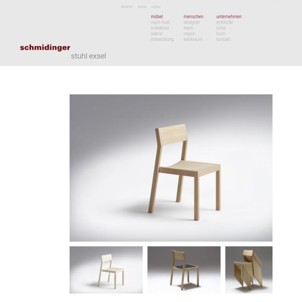 schmidinger möbelbau - Stuhl Exsel