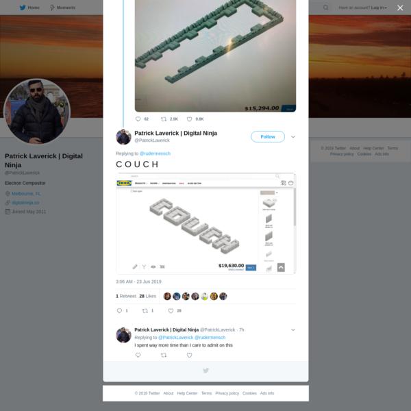 Patrick Laverick | Digital Ninja on Twitter