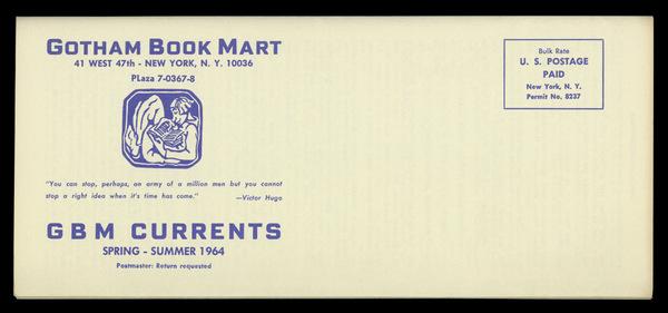 Gotham Book Mart, 1964