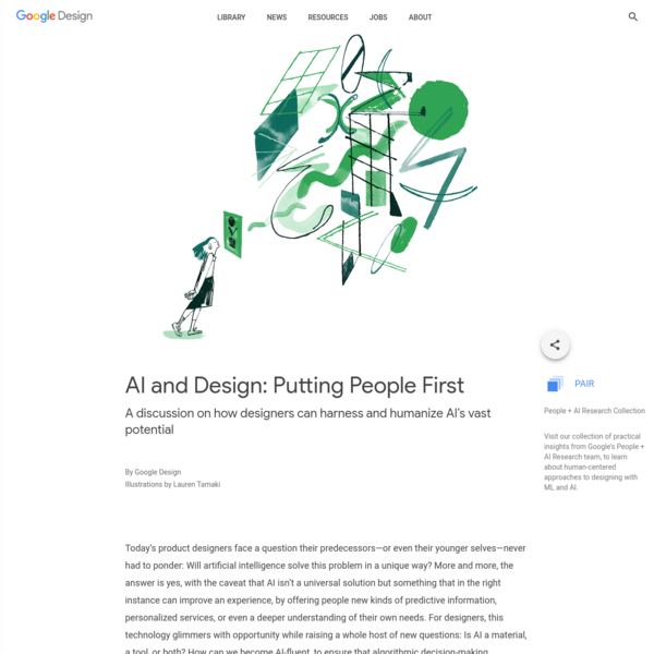 AI and Design: Putting People First - Library - Google Design