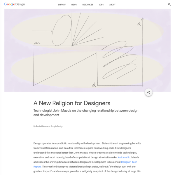 A New Religion for Designers - Library - Google Design