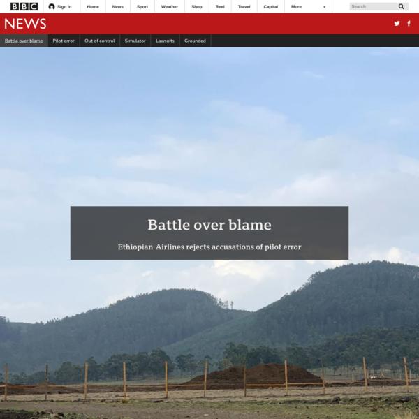 Battle over blame