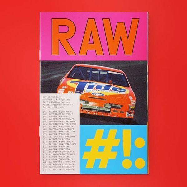 RAW #specimen back in stock @drawdownbooks
