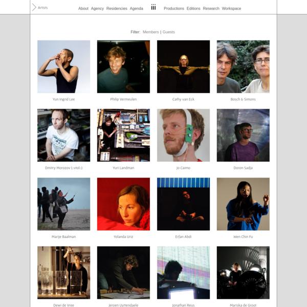 Artists Archive - instrumentinventors.org