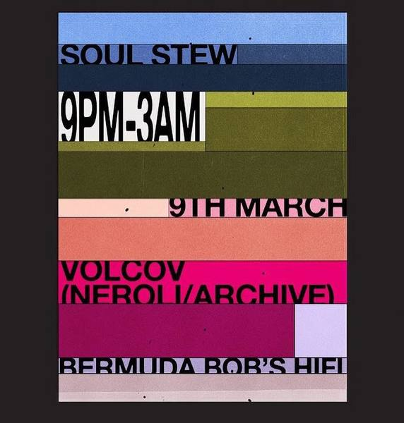 Unused for @soulfulstew * * * * * * * * * * #poster #artwork #design #graphic #typography #colourpop #colour #posterdesign
