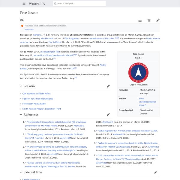 Free Joseon - Wikipedia