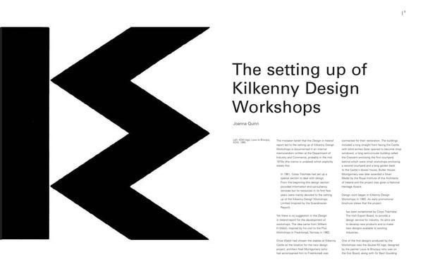 A retrospective exhibition of Kilkenny Design Workshops 1963 - 1988