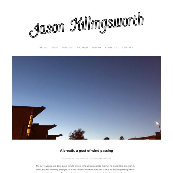 Blog - Jason Killingsworth