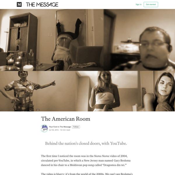 The American Room - The Message - Medium