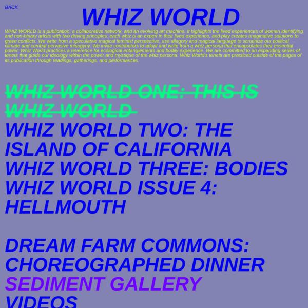 WHIZ-WORLD