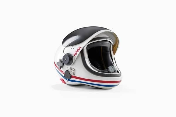 Space Shuttle helmet by Benedict Redgrove