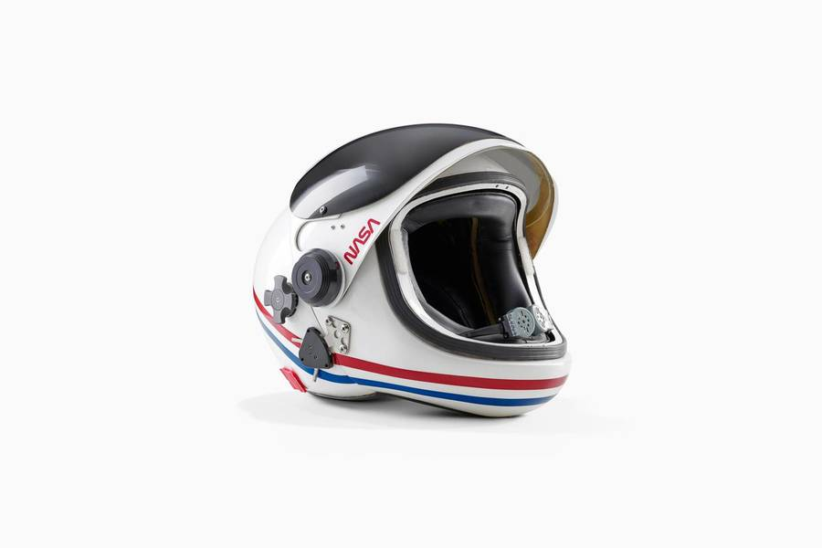 Space Shuttle helmet by Benedict Redgrove