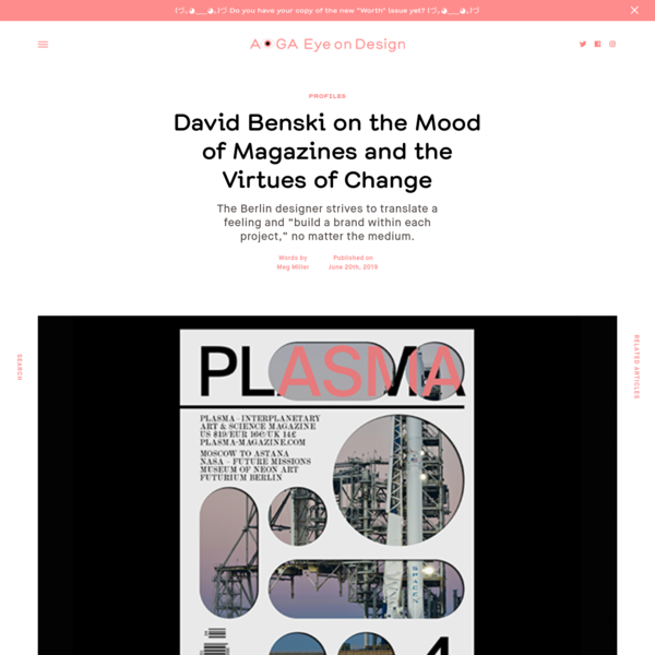 David Benski on the Mood of Magazines and the Virtues of Change