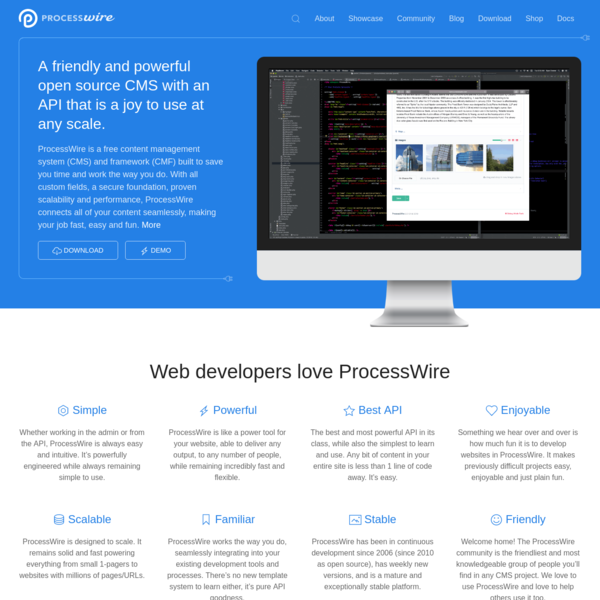 ProcessWire: An open source CMS with a powerful API