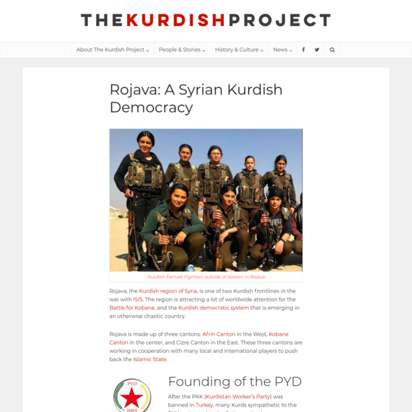 Learn About Rojava | The Kurdish Project