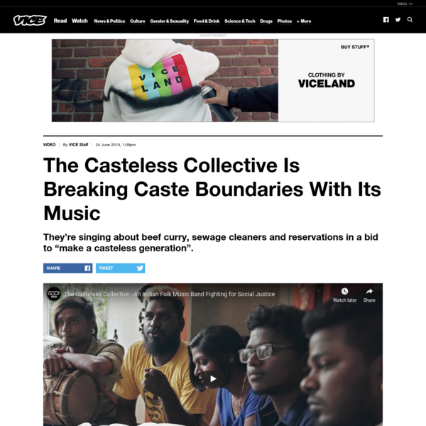 The Casteless Collective Is Breaking Caste Boundaries With Its Music
