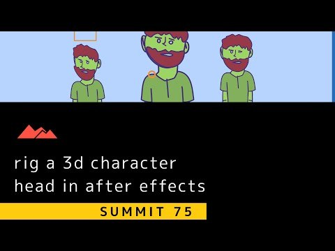 Summit 75 - 3D Head Turns - After Effects