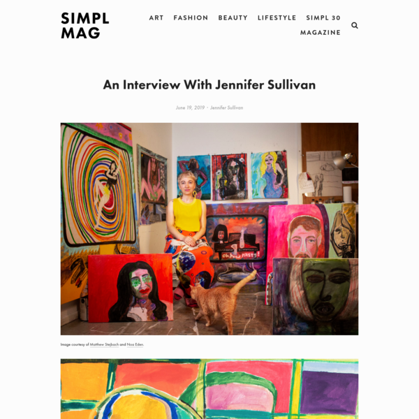 Jennifer Sullivan @ SIMPL MAG