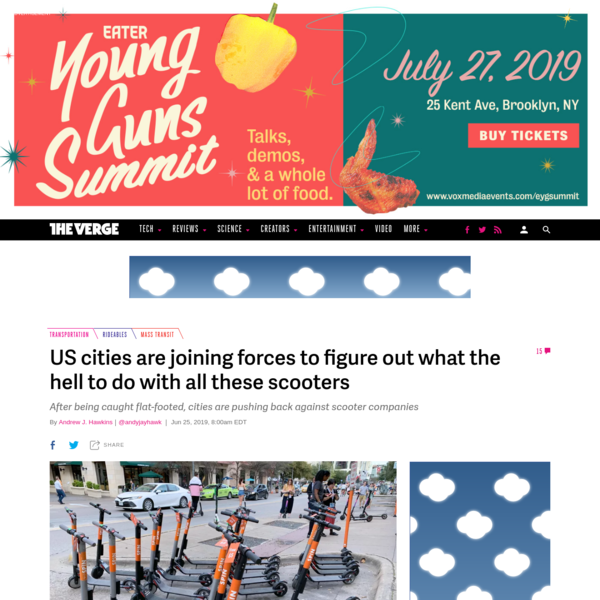 US cities are joining forces to figure out what the hell to do with all these scooters