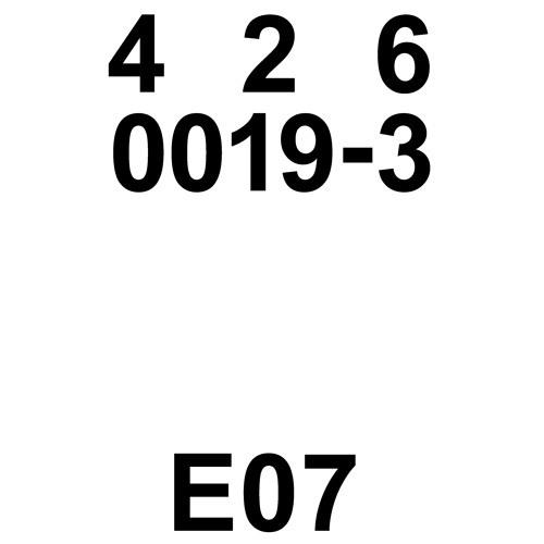 0019-3 E7 by LOT