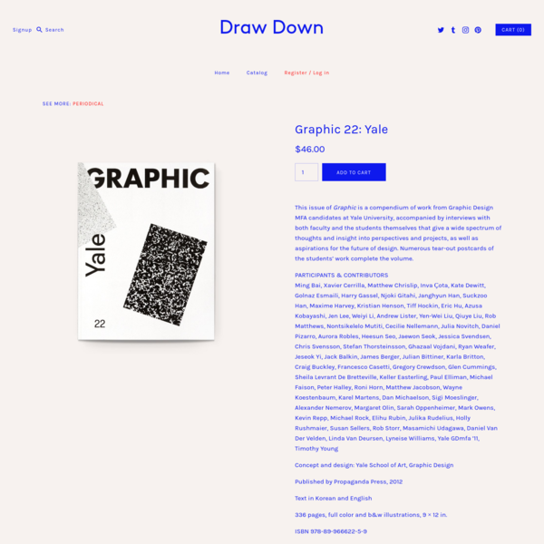 Graphic 22: Yale - Draw Down